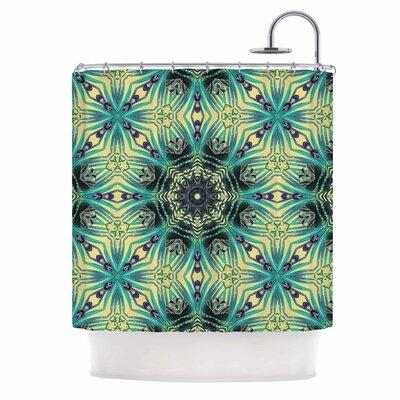 Alison Coxon Paradise Digital Shower Curtain