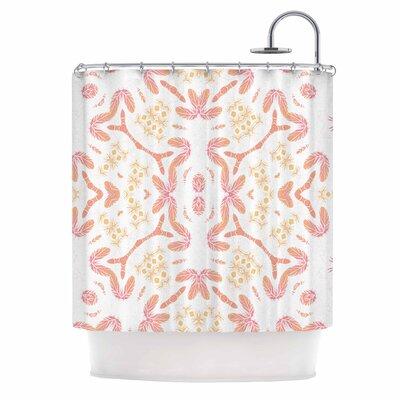 Alison Coxon Aztec Feather Shower Curtain