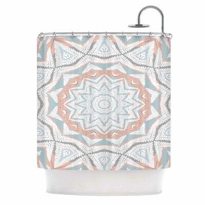 Alison Coxon Plant House Mandala Digital Shower Curtain
