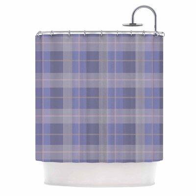 Afe Images Plaid Illustration Shower Curtain