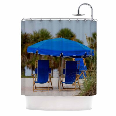 Angie Turner Ready to Relax Digital Photography Shower Curtain