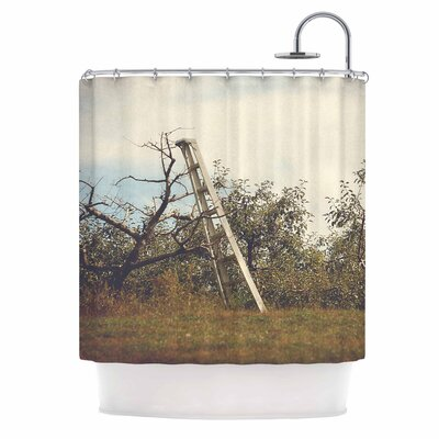 Angie Turner Apple Picking Photography Shower Curtain