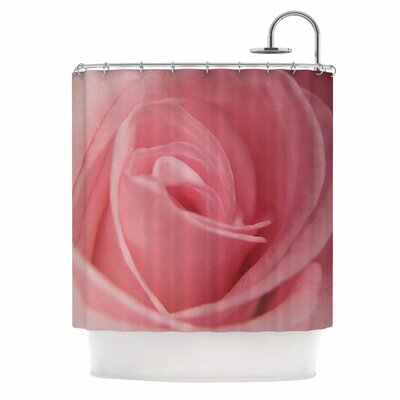 Angie Turner Soft Pink Shower Curtain