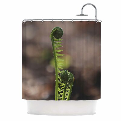 Angie Turner Fern Top Nature Shower Curtain