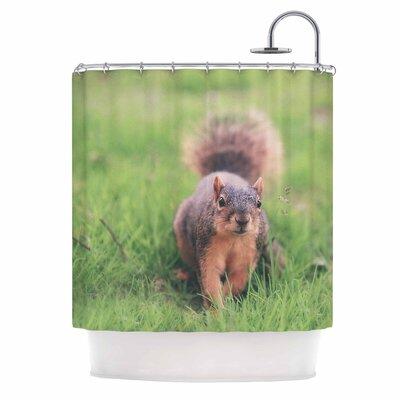 Angie Turner Squirrel Animal Shower Curtain