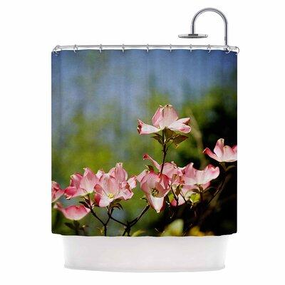 Angie Turner DogwoodDigital Floral Shower Curtain