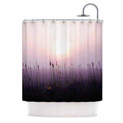 Angie Turner Sunrise Cattails Shower Curtain