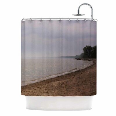 Angie Turner Along the Coast Shower Curtain
