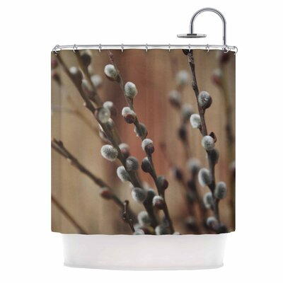 Angie Turner Willows Shower Curtain