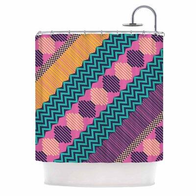 Akwaflorell Knitted Shower Curtain