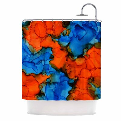 Claire Day Mile High Shower Curtain