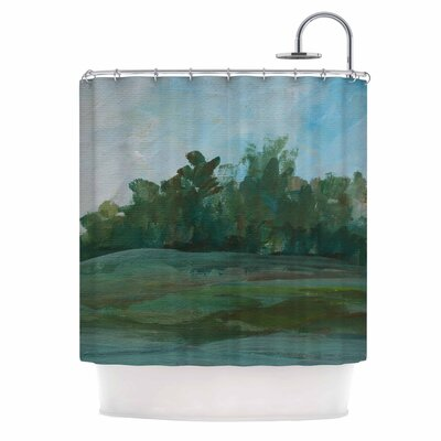 Cyndi Steen Stand of Trees Shower Curtain