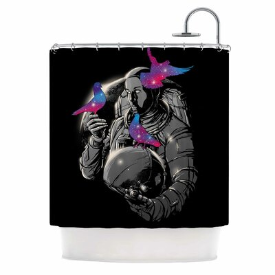 Digital Carbine a Touch of Whimsy Shower Curtain