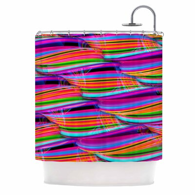 Danny Ivan Super Candy Shower Curtain