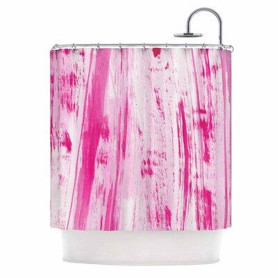 Danii Pollehn Stripes Shower Curtain