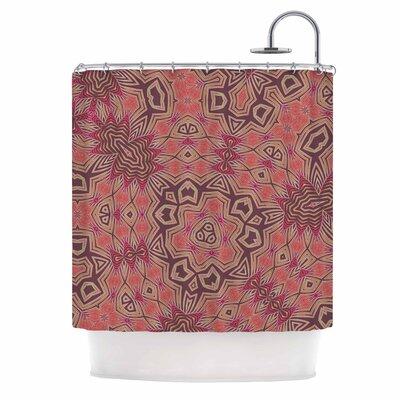 Alison Coxon Tribal Fire Digital Shower Curtain
