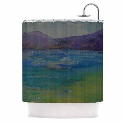 Cyndi Steen Mountains Shower Curtain