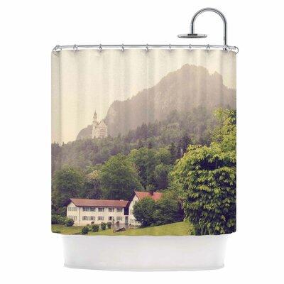 'German Beauty' Travel Shower Curtain