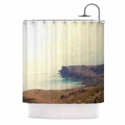 'Sea Dream' Coastal Shower Curtain
