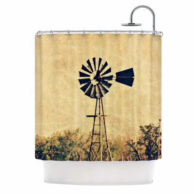'We Are in Kansas' Travel Shower Curtain