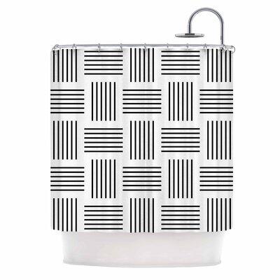 'Postrance' Digital Shower Curtain