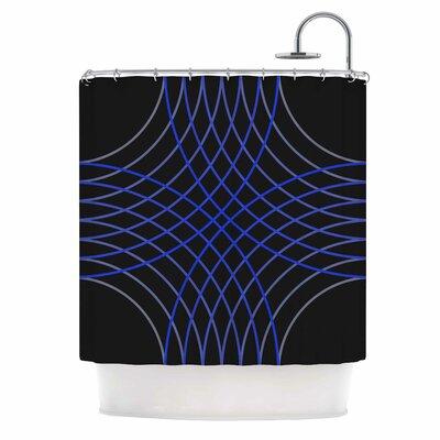 'Cesta' Digital Shower Curtain