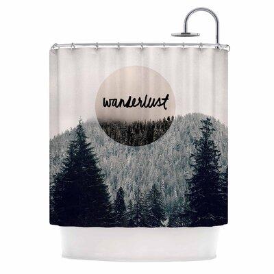 'Wanderlust' Shower Curtain