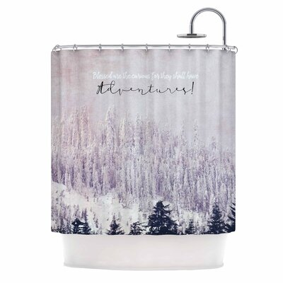 'Adventures' Photography Shower Curtain