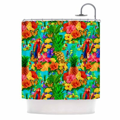 'Tropical Style' Nature Shower Curtain