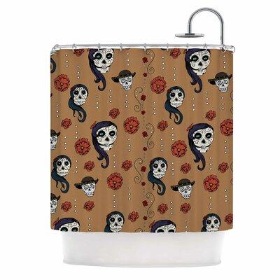 'Calaveras' Shower Curtain