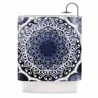 'Siam Mandala' Illustration Shower Curtain