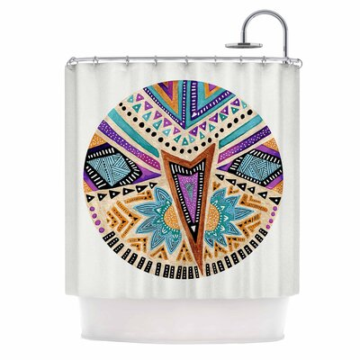 'Multicultural Icon' Shower Curtain