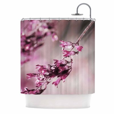 'Rose Spangles Pattern' Shower Curtain