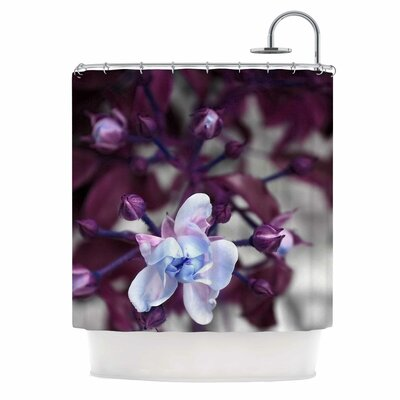 'Roses Ll' Shower Curtain