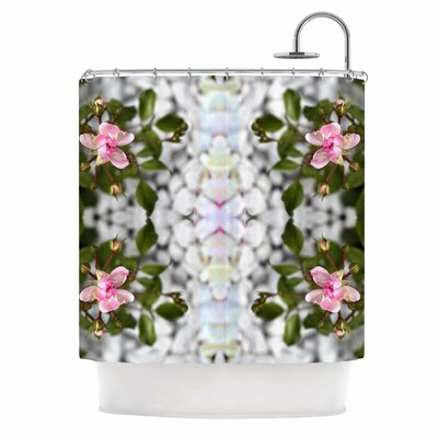 'Roses L' Shower Curtain