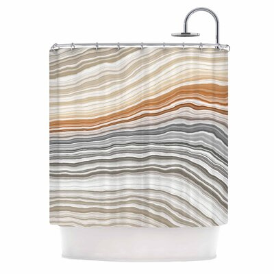 'Vernal Pools' Shower Curtain