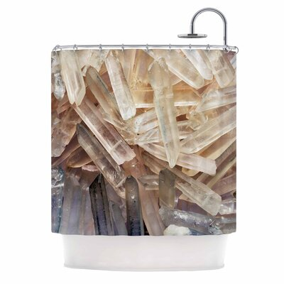 'Crystal Cluster' Shower Curtain