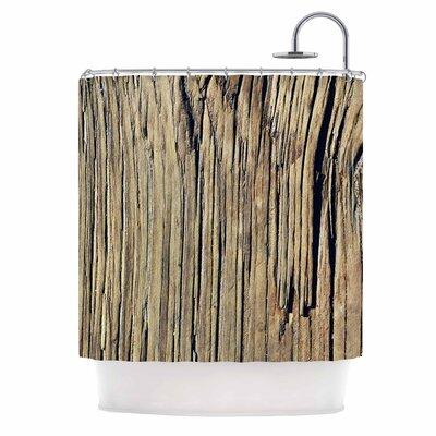 'Tree Bark Pattern' Photography Shower Curtain