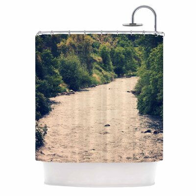 'Cold Stream' Photography Shower Curtain