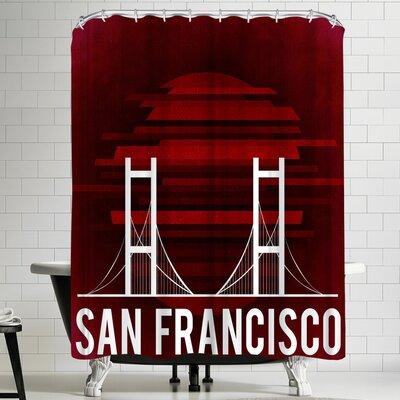 Wonderful Dream San Francisco Us Shower Curtain