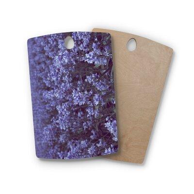 Ann Barnes Birchwood Bell Forest Flowers Cutting Board Shape: Rectangle
