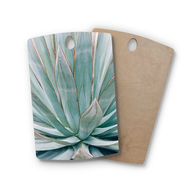 Ann Barnes Birchwood Agave Abstract Photography Cutting Board Shape: Rectangle