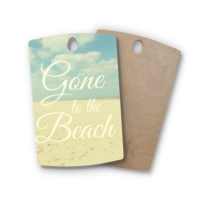 Alison Coxon Birchwood Gone to the Beach Cutting Board Shape: Rectangle