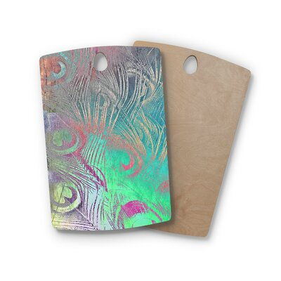 Alison Coxon Birchwood Indian Summer Abstract Cutting Board Shape: Rectangle
