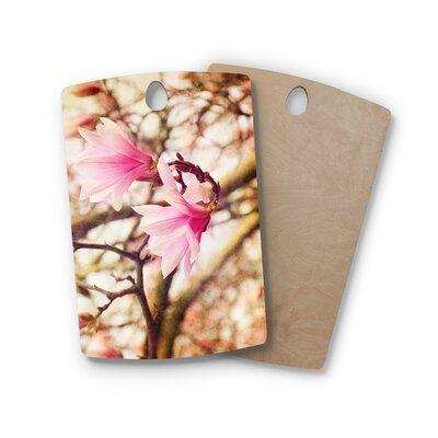 AFE Images Birchwood Magnolias Photography Cutting Board Shape: Rectangle