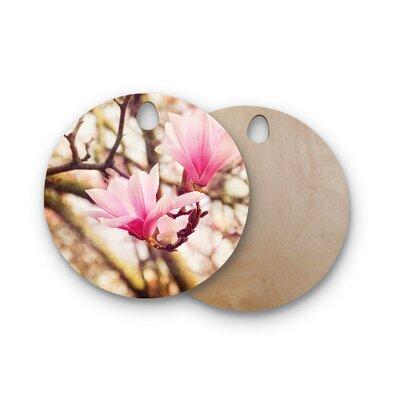 AFE Images Birchwood Magnolias Photography Cutting Board Shape: Round
