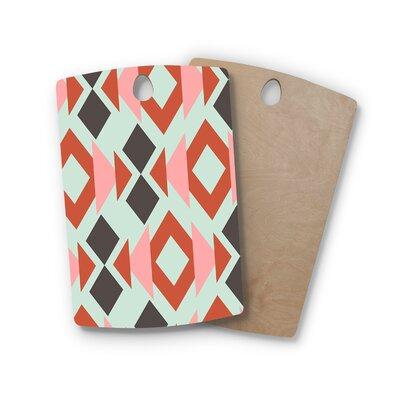 Pellerina Design Birchwood Triangle Weave Cutting Board Shape: Rectangle