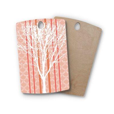 Pellerina Design Birchwood Spring Tree Cutting Board Shape: Rectangle