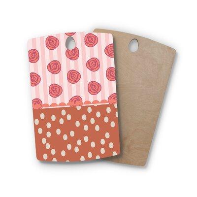 Pellerina Design Birchwood Mismatch Bohemain Floral Cutting Board Shape: Rectangle