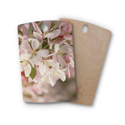 Angie Turner Birchwood Apple Blossoms Flower Cutting Board Shape: Rectangle